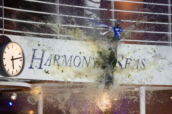 Special Report: Harmony of the Seas  naming ceremony