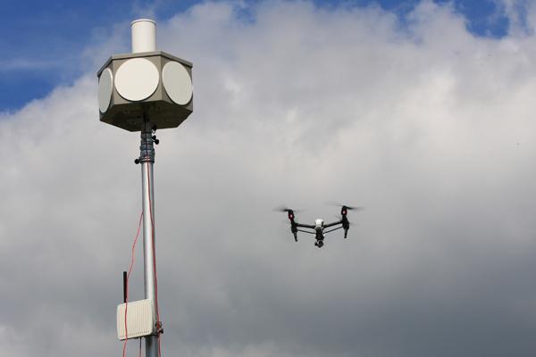 London Southend conducts first airport drone surveillance test