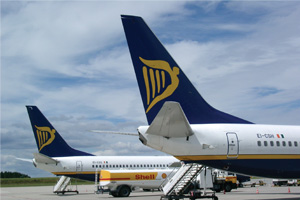 Ryanair confirms Edinburgh cuts