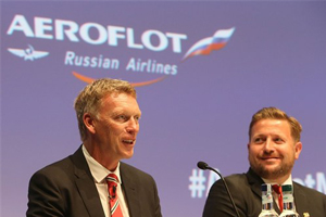 Aeroflot named official carrier for Manchester United