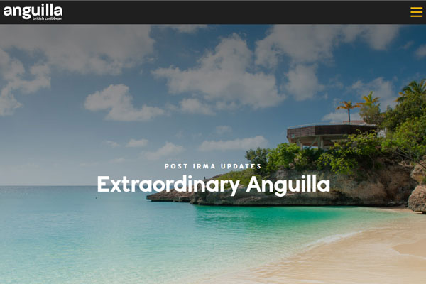 WTM 2017: Voluntourism project to help hurricane recovery on Anguilla