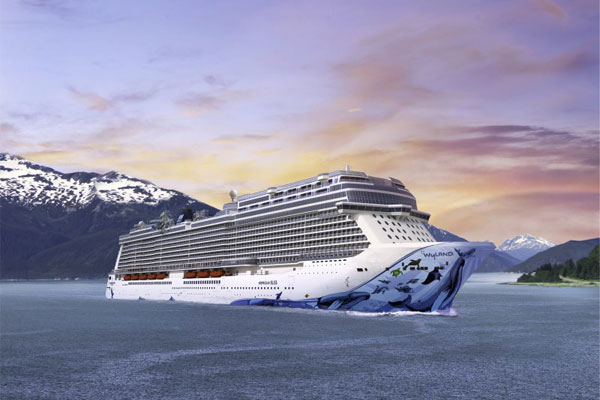 Win one of five places* on Norwegian Bliss inaugural sailing