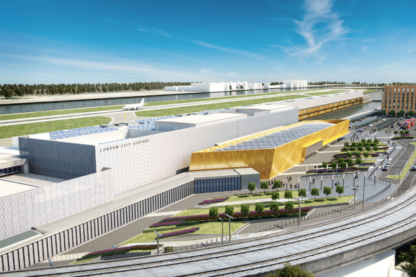 Engineer appointed London City chairman as airport prepares for expansion