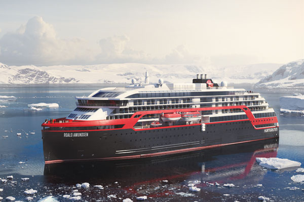 Hurtigruten unveils first voyages by battery-powered hybrid ships