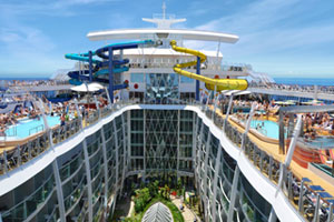 Harmony of the Seas to feature water slides in first for Royal Caribbean