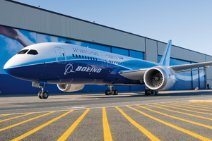 Dreamliner arrives in Japan for All Nippon tests