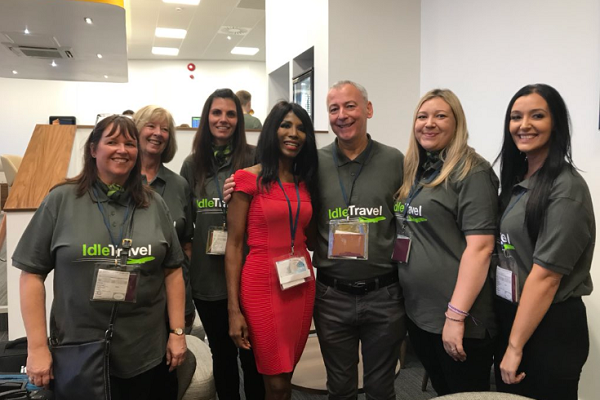 Sinitta helps Idle Travel see of customers in style