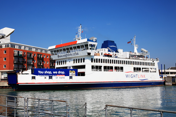 Wightlink ferry fire suspected to have started in air conditioning unit