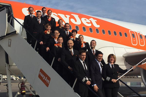 EasyJet opens new base in Barcelona