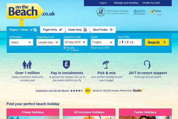 On The Beach tips strong lates as consumers delay booking