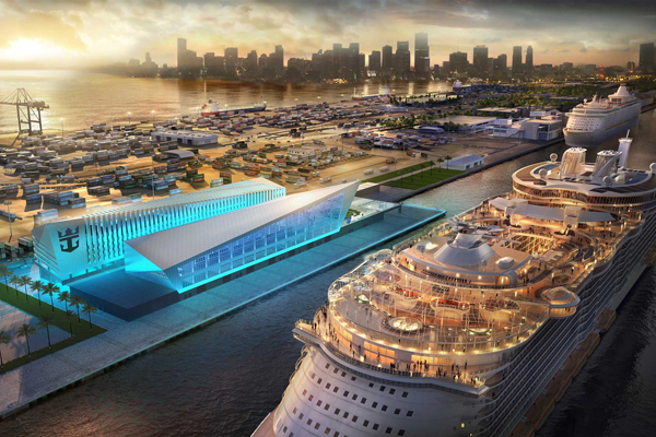 Royal Caribbean plans new Miami cruise terminal