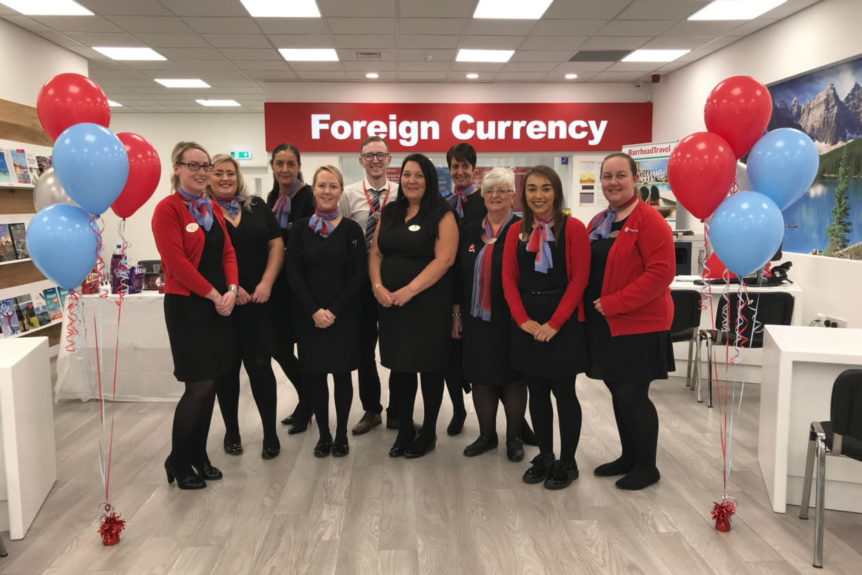 Barrhead Travel continues expansion with Glasgow Fort branch