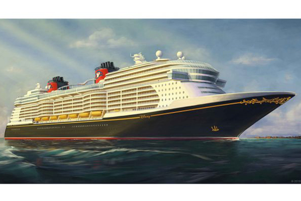 Disney Cruise Line reveals new ships' appearance
