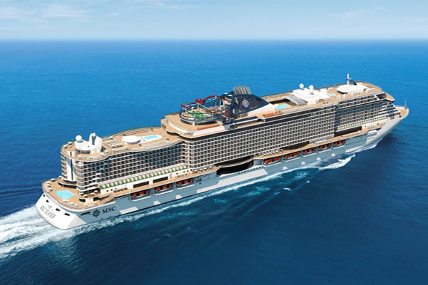 MSC Cruises see UK bookings boost