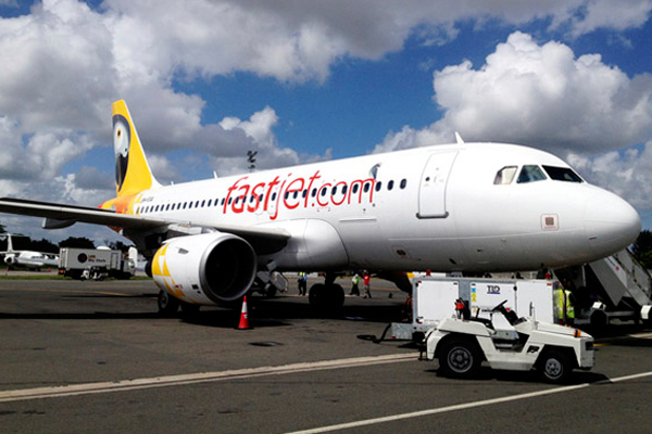 Fastjet shares slump as airline bosses blame forecast on electoral chaos