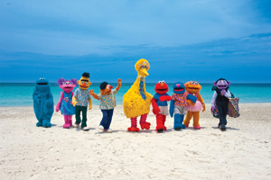 Beaches unveils learning tie-up with Sesame Street