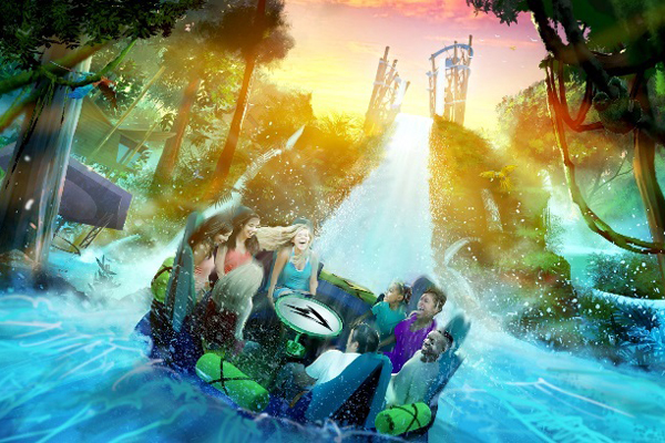 SeaWorld Orlando reveals plans for new rainforest rapids ride