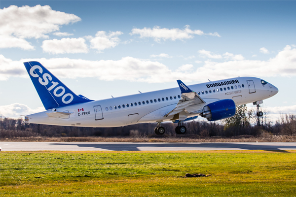 Bombardier C Series jet wins flight go-head