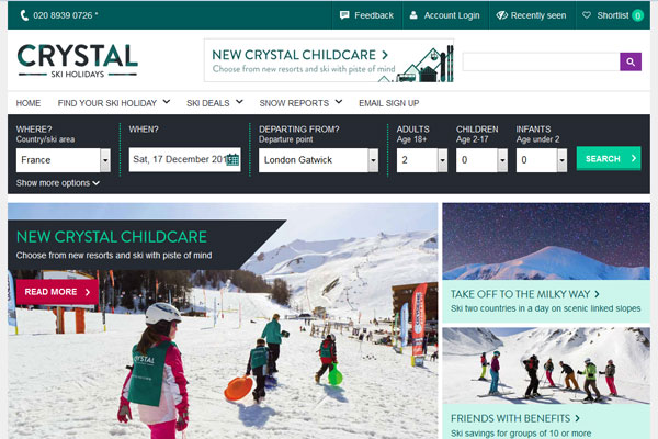 Tui investment in Crystal Ski and Thomson Lakes & Mountains will 'accelerate growth'