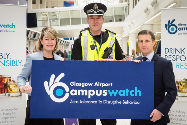 Glasgow airport reports 125 alcohol-related behaviour incidents in 2016