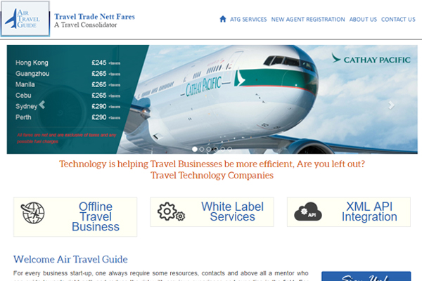 Moresand revamps B2B consolidator Air Travel Guide