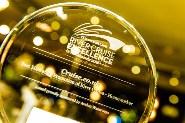 Agents honoured at inaugural Clia River Cruise Excellence Awards