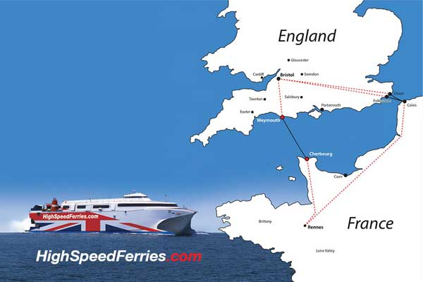 Ferry start-up plans new western Channel service
