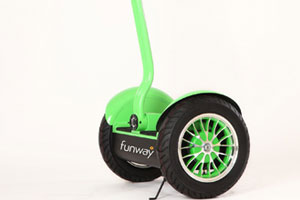 Funway to replace sales team's car fleet with Segways