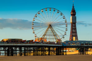 Piers at Blackpool and Llandudno put up for sale