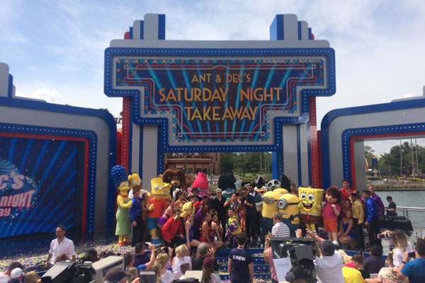 Universal Orlando predicts spike in bookings after live Saturday Night Takeaway final