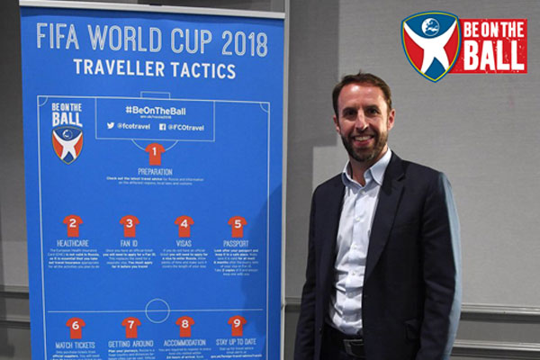 Gareth Southgate backs government advice for football fans in Russia