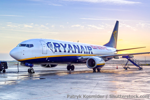 Ryanair records peak performance in August
