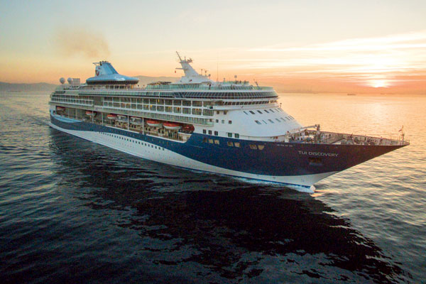 Tui Discovery to homeport in Newcastle and Southampton for first time