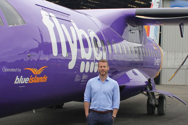 Blue Islands becomes Flybe's third transfer partner
