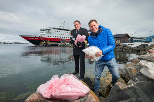 Hurtigruten aims to become world's first plastic-free cruise company