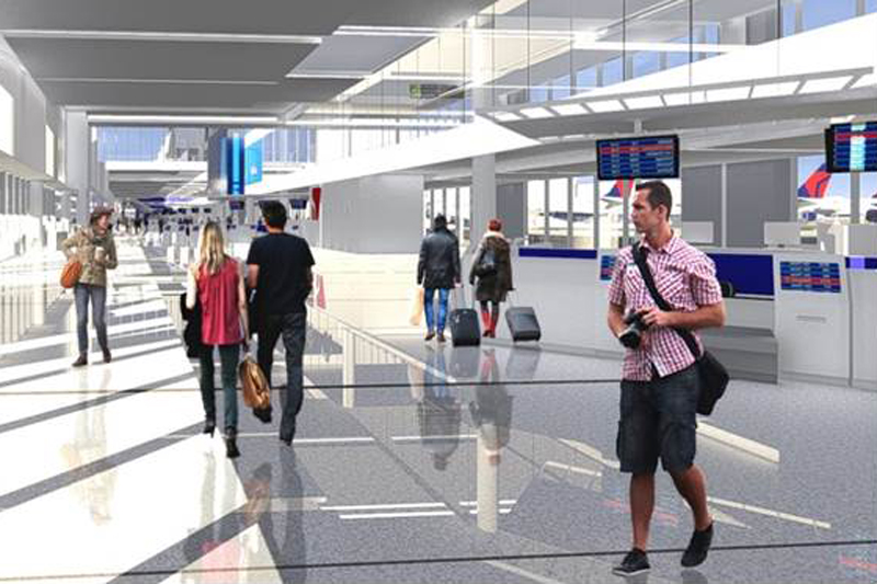 Delta begins major terminal move at Los Angeles airport