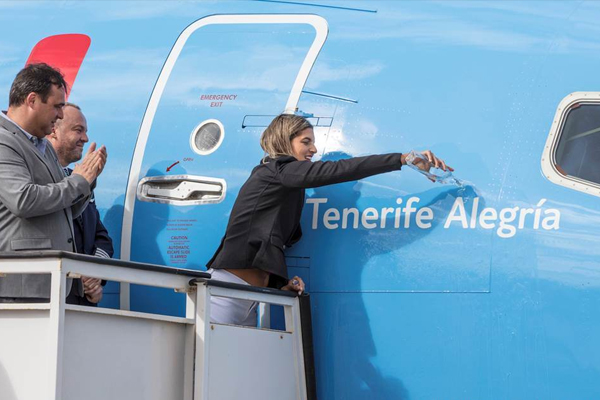 New Tui aircraft to carry names of destinations served