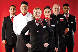 New 'red hot' look for Virgin Trains' staff