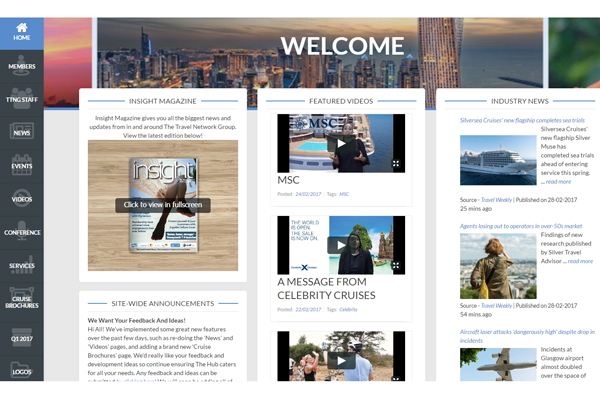 The Travel Network Group launches The Hub intranet for members