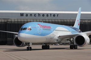 August numbers up at Manchester airport