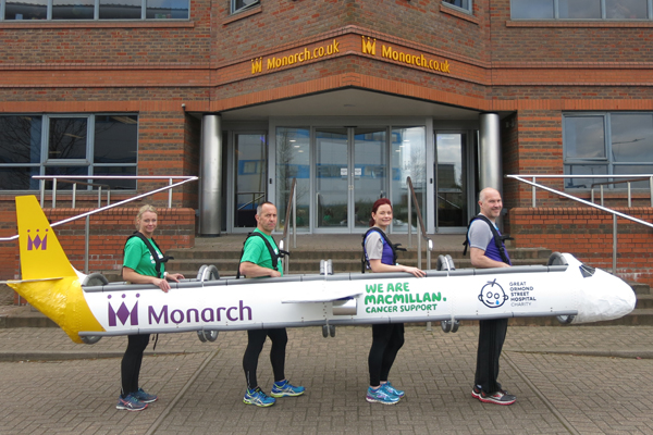 Monarch crew aim for world record at London Marathon