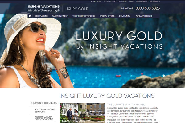 Travel 2 to sell luxury Insight tours