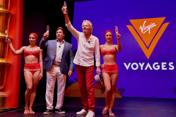 Branson unveils new Virgin cruise brand and confirms ship order