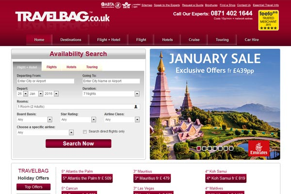Travelbag to launch national TV advertising campaign