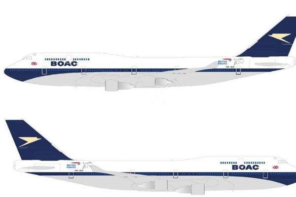 BOAC livery revived as part of BA's 100th anniversary
