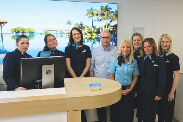 Cassie Hayes: Tui Southport staff thank travel industry as store reopens