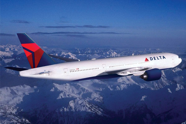 Delta reports record second-quarter profits