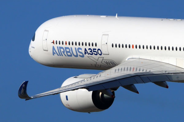 Airbus hails record deliveries during 2017