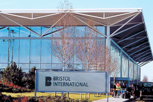 Bristol airport reports busiest month in its history