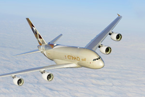 Etihad to deploy A380 to Melbourne next summer